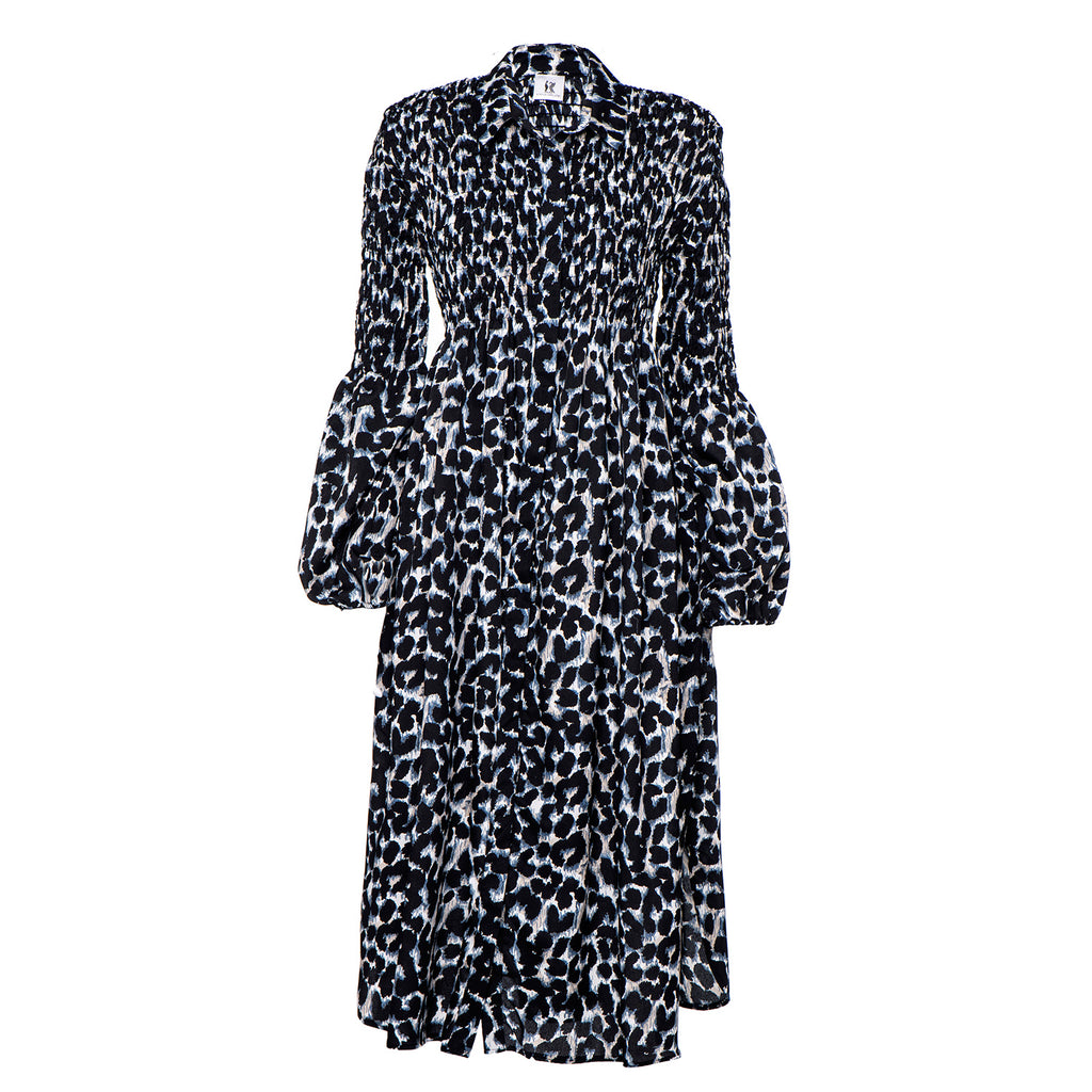 Winter 2021 - Tzifka dress - The Blue Leopard