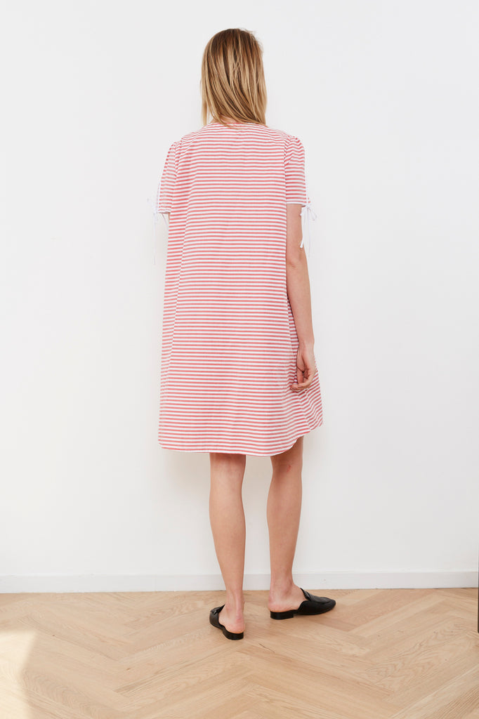 Summer 2020- Key dress 🔑 - Red striped
