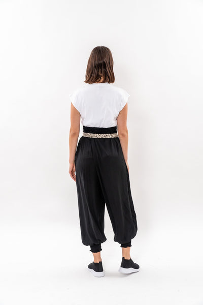 Black Harem pants- Aladdin trousers- winter 19