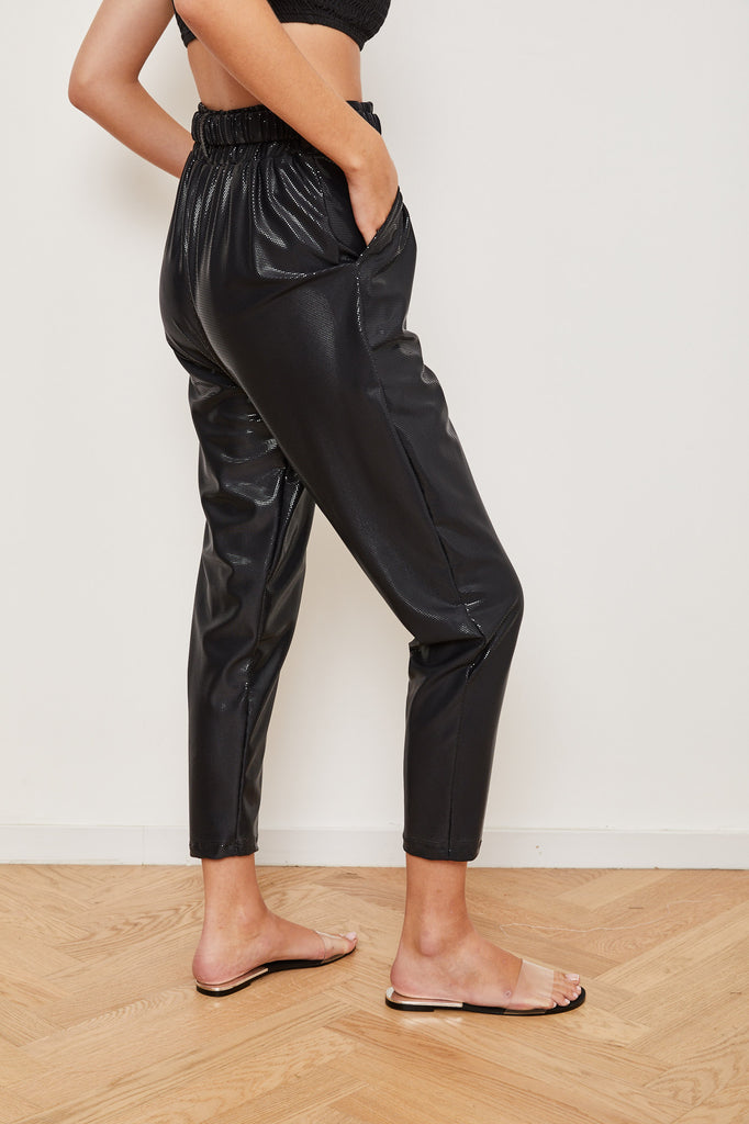 Winter 2021  - Mulan pants - Glossy black