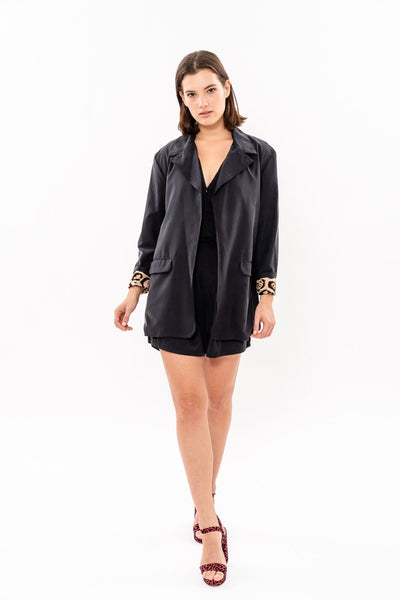 Winter 19 - Elaine Blazer - Black