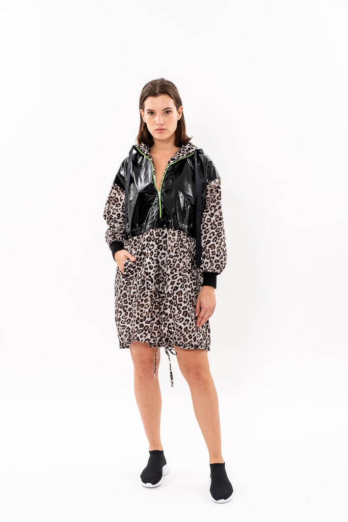 Winter 19 - Jerry Dress - Leopard