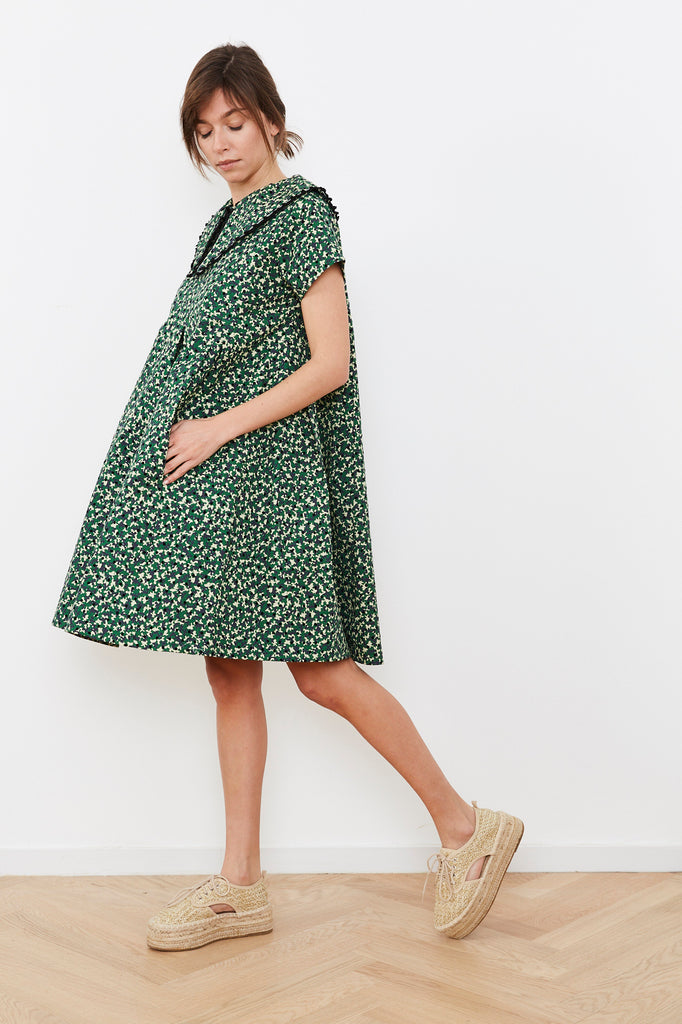 Summer 2020- Camouflage print Hanale Dress with detachable collar