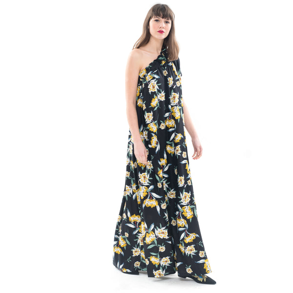 Philadelphia 76'  - One Shoulder Maxi Dress