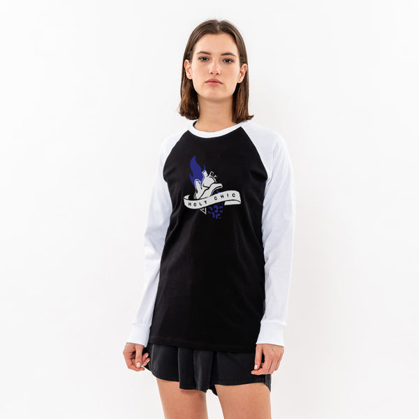 HOLY CHIC Raglan T- shirt