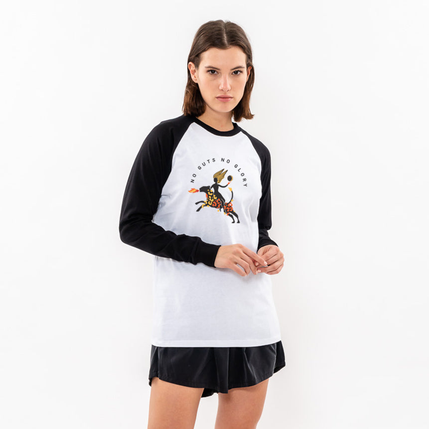 Long sleeves Raglan T- shirt