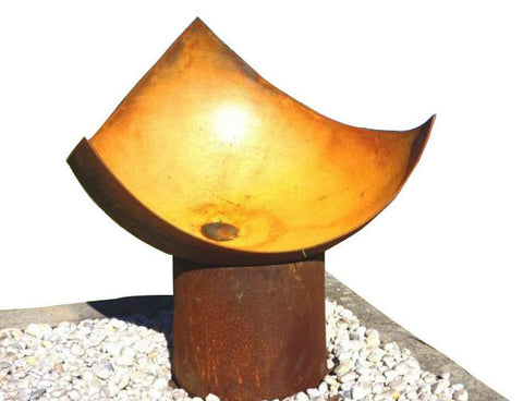 The Chalice Fire Pit - 5mm Cast Iron - 80cm Dia