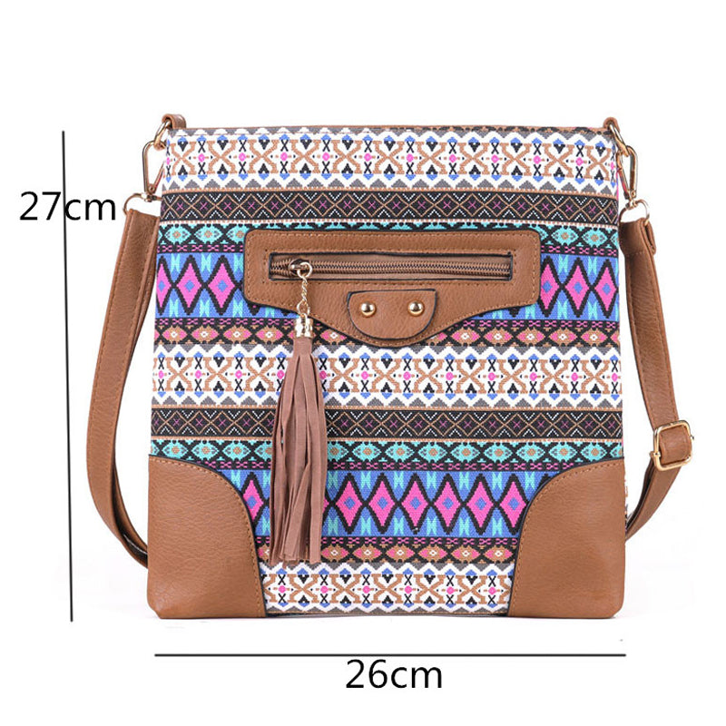 Canvas Women Messenger Bags Crossbody