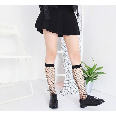 Ankle Lace Fish Sockets