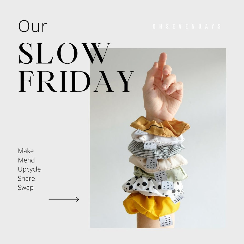 Slow Friday: Positive Alternatives to Shopping This Black Friday
