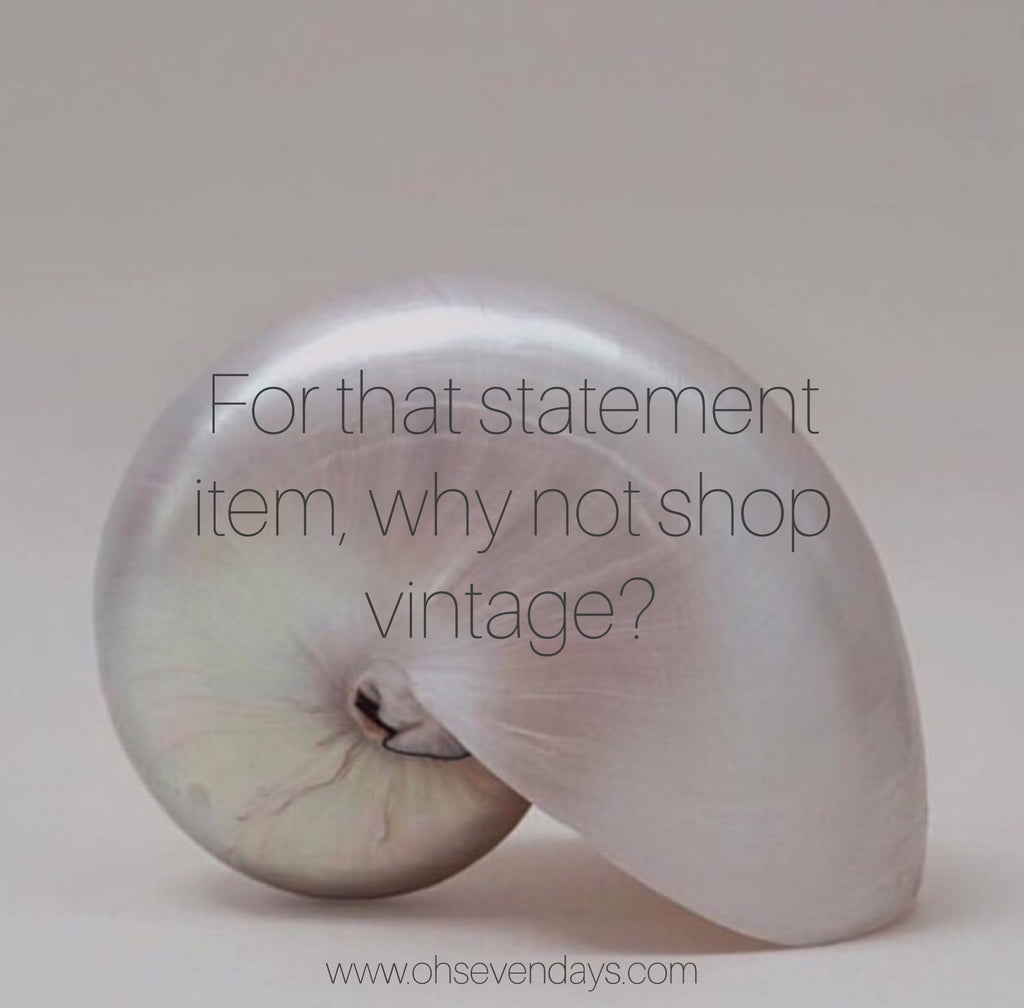 Sustainable fashion thrift and vintage