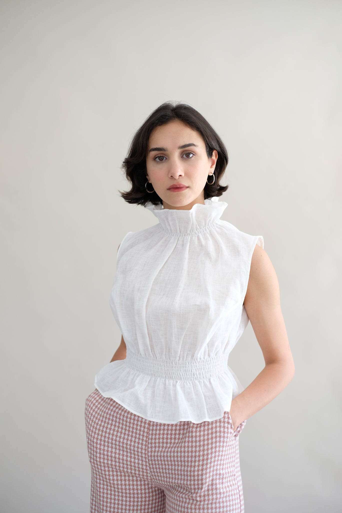Linen Blouse Oh Seven Days Sustainable Fashion