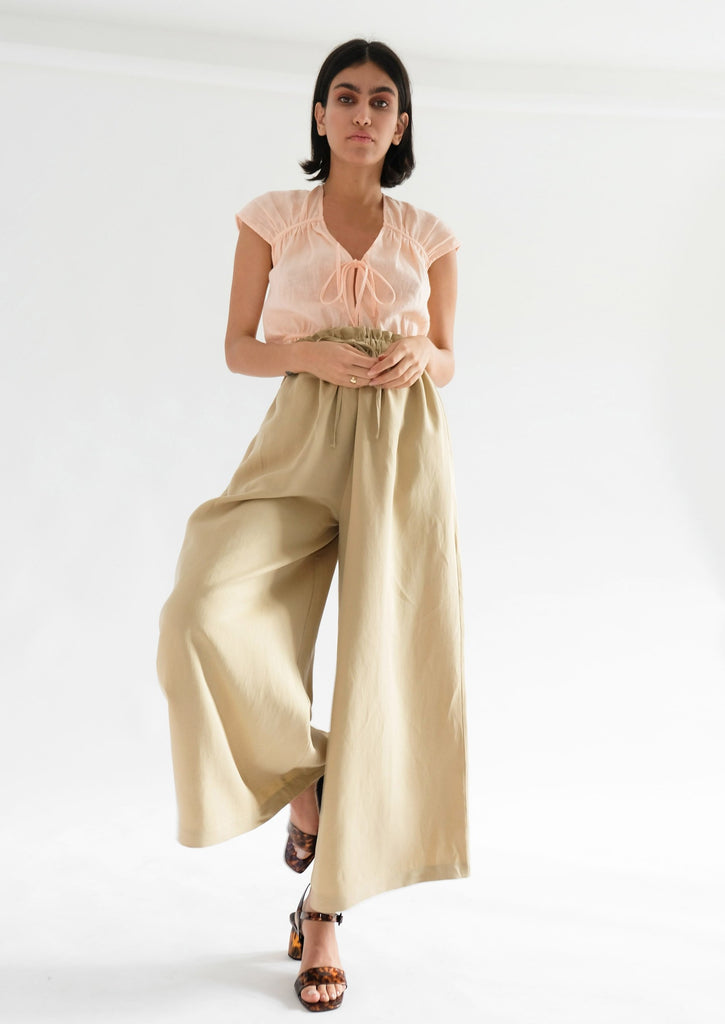HEATHER TROUSERS (BISCOTTI)