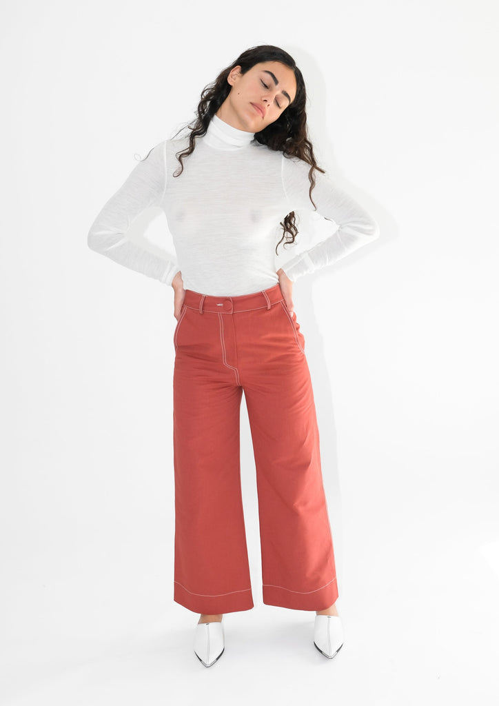 High Kick Trousers (Redwood)