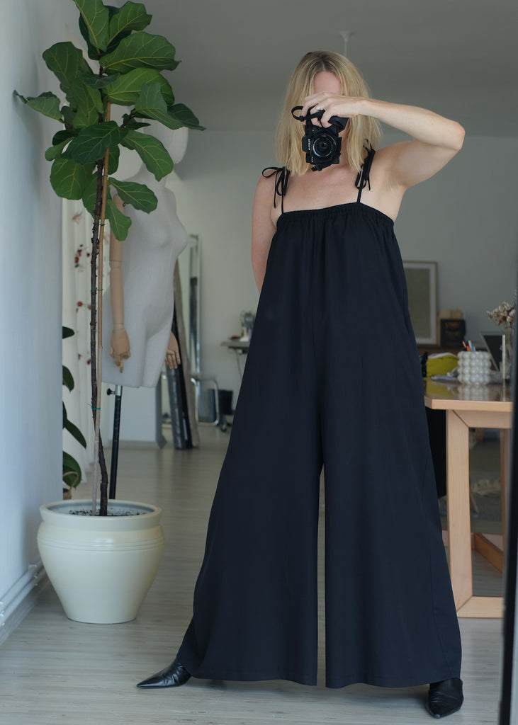 Cloud Jumpsuit (Black)
