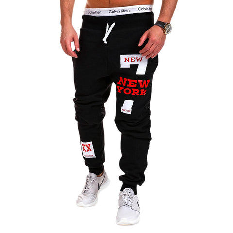 2017 New York slim fit sweatpants 4 colours
