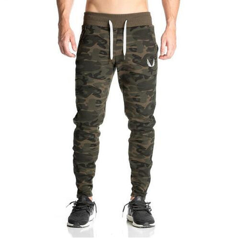 2017 NEW Camo slim fit tracksuit