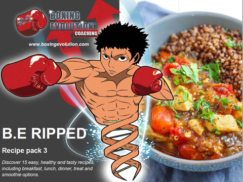 B.E RIPPED recipe pack 3