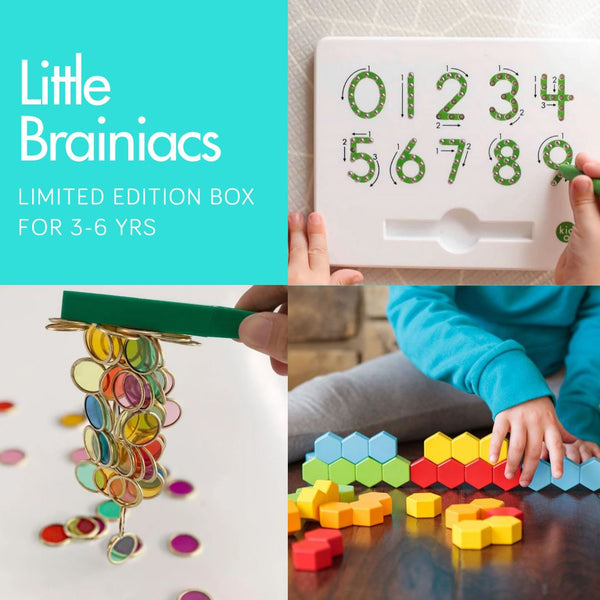 Little Brainiac 3-6 yrs One-off Box