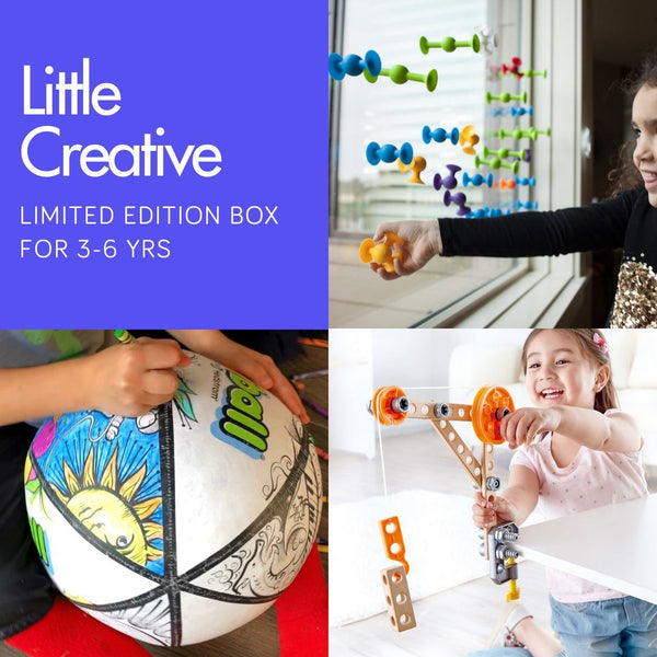 Little Creative 3-6 yrs One-off Box Inside MonkiBox MonkiBox