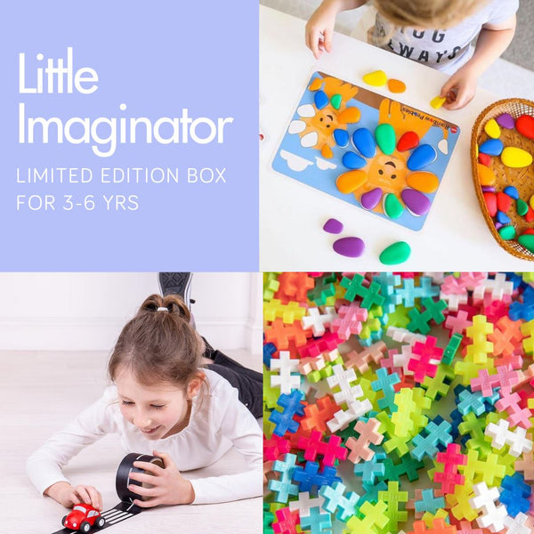 Little Imaginator 3-6 yrs One-off Box Inside MonkiBox MonkiBox