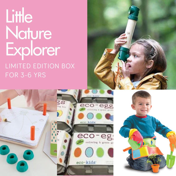 Little Nature Explorer 3-6 yrs One-off Box Inside MonkiBox MonkiBox
