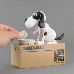 Hungry Dog Money Box