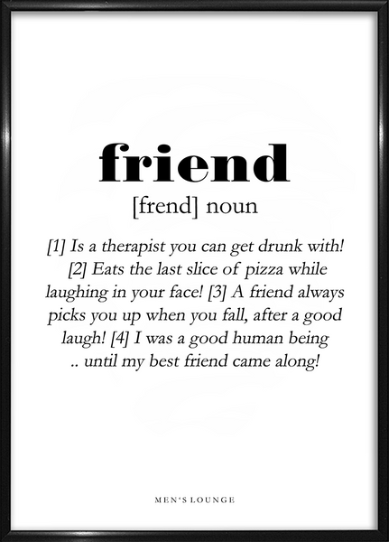 Friend Definition