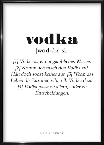 Vodka Definition DE