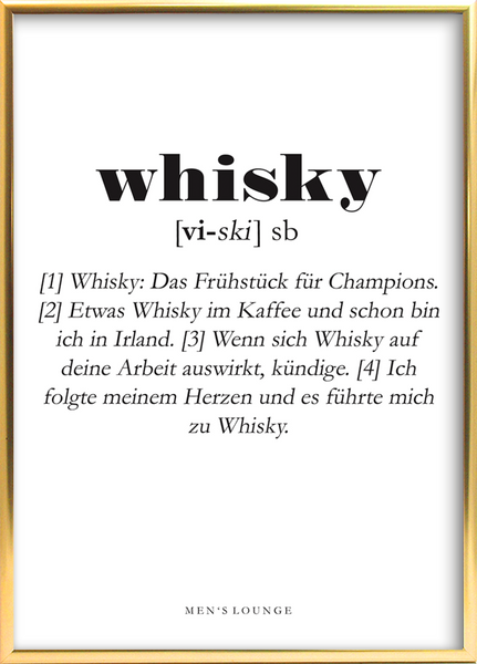 Whisky Definition DE