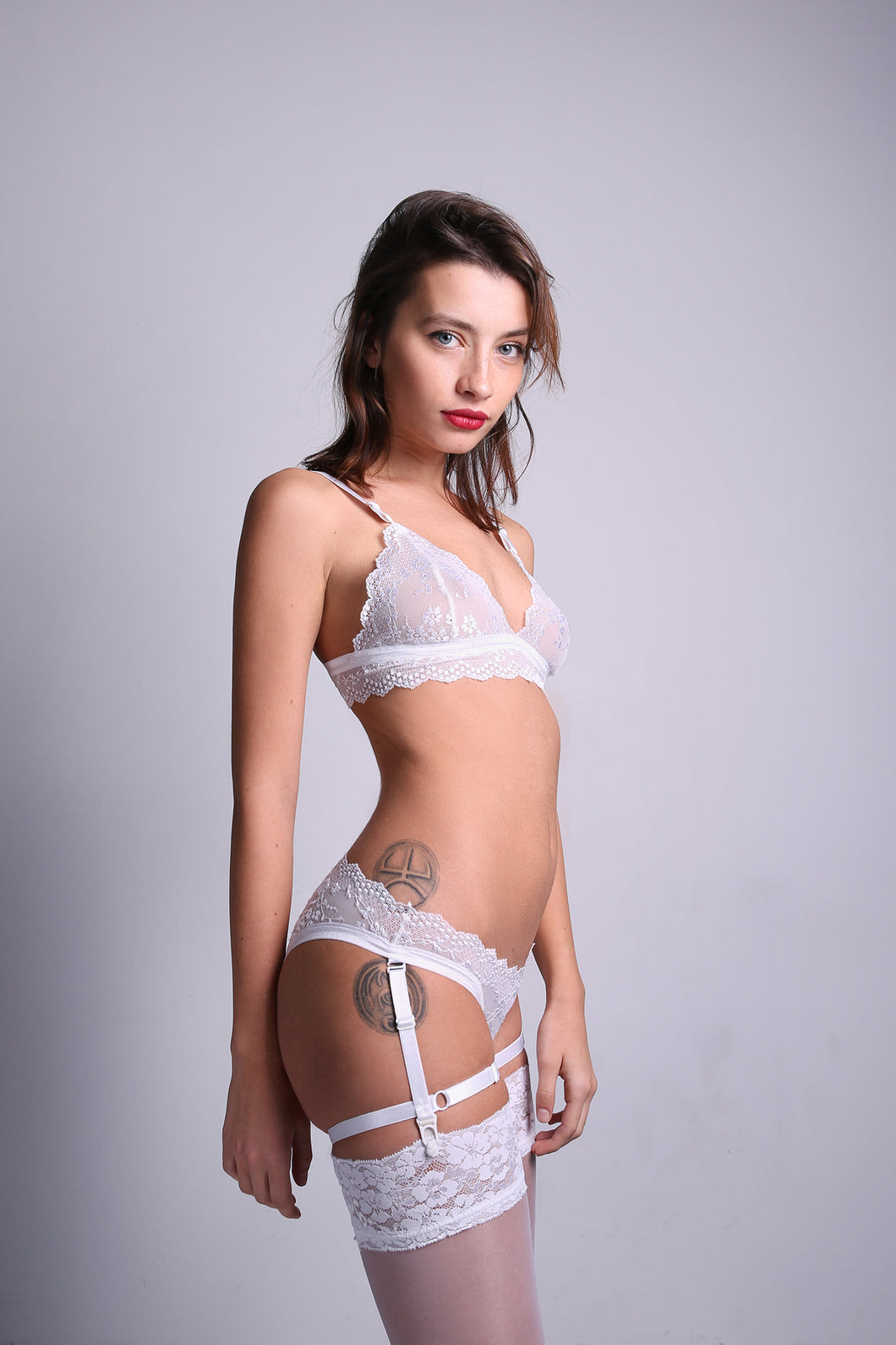 'Audrey' White Set
