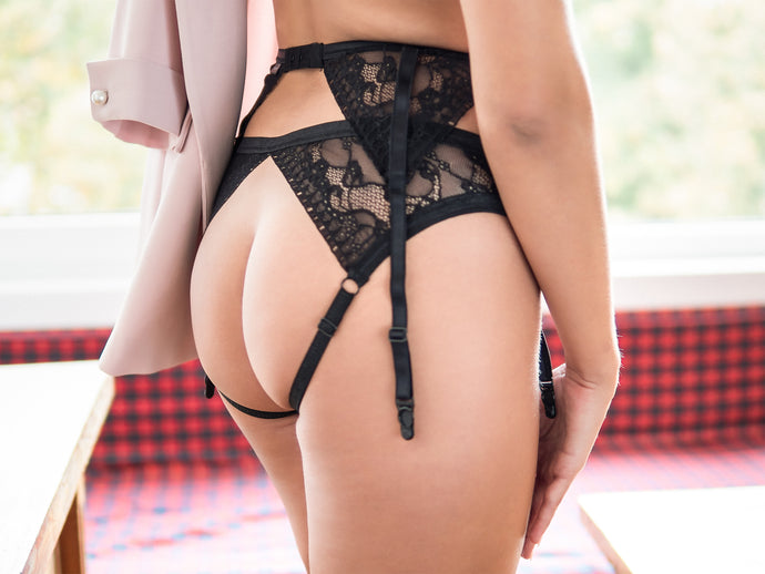 'Florence' Open Back Panties