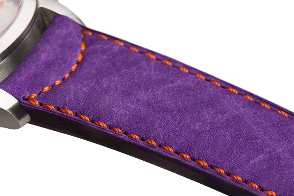 Classic Purple Nubuck Orange