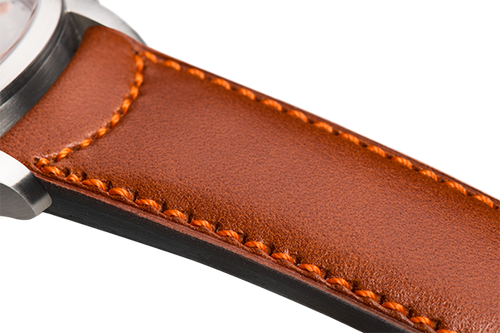 Classic Camel Leather Orange