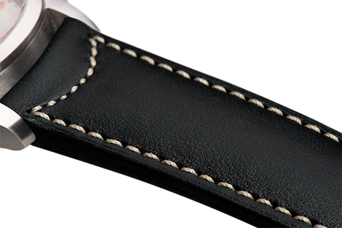 Classic Black Leather Natural