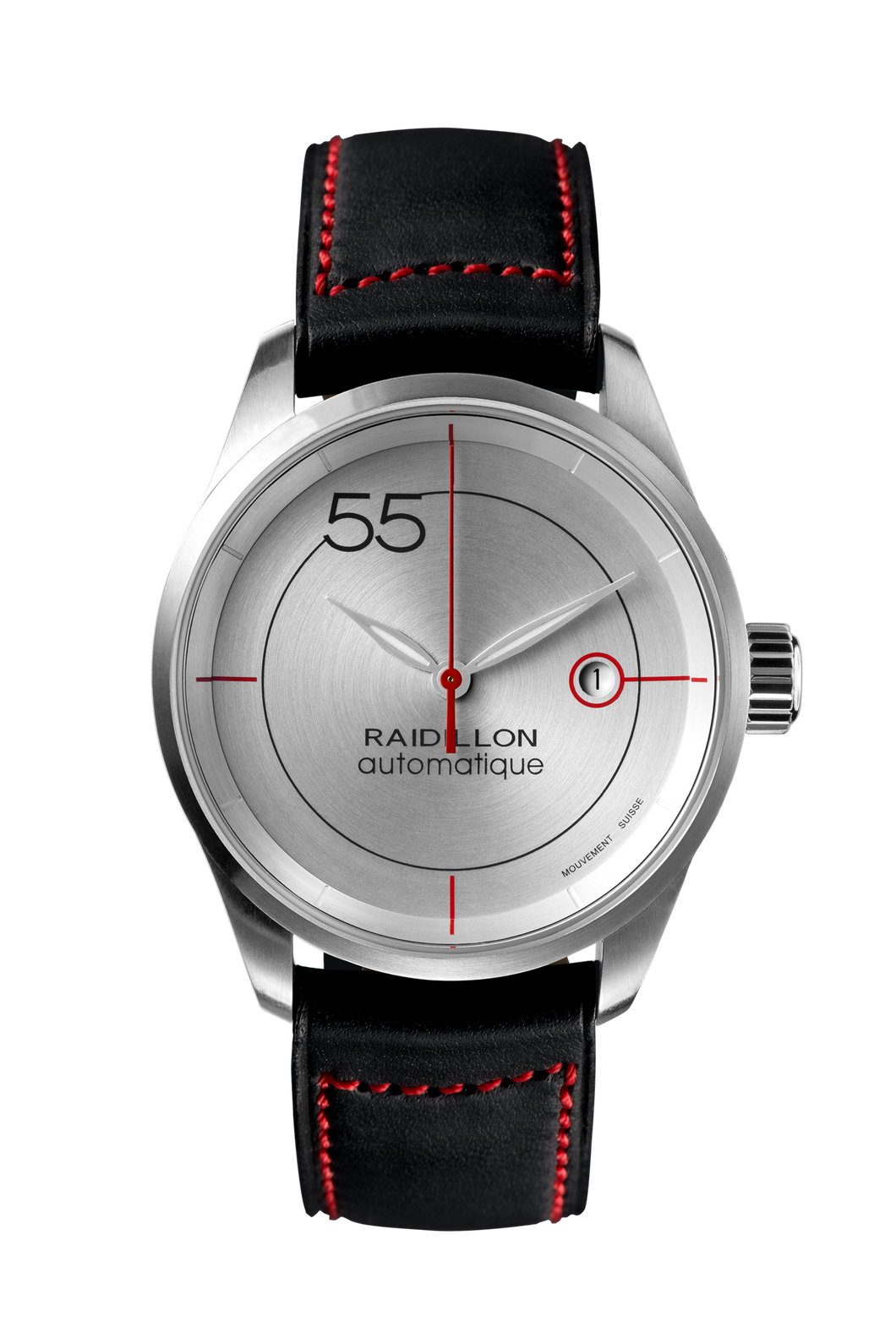 Raidillon, 55, concept, watch, timepiece, Swiss made, Valjoux, design, Belgium, limited édition, lifestyle, cars, car racing, Spa-Francorchamps, gentleman driver, montre, Belgique, série limitée, voitures, course automobile