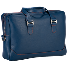 City Briefcase: Blue - Red