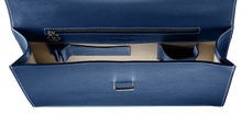 Gentleman Briefcase: Blue - Natural