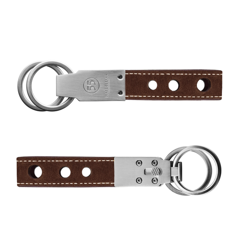 Key Ring: Nubuck - Natural