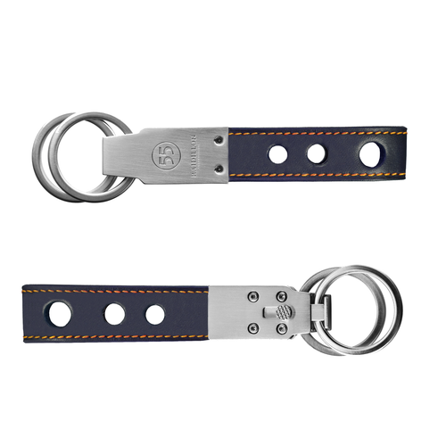 Key Ring: Blue - Orange