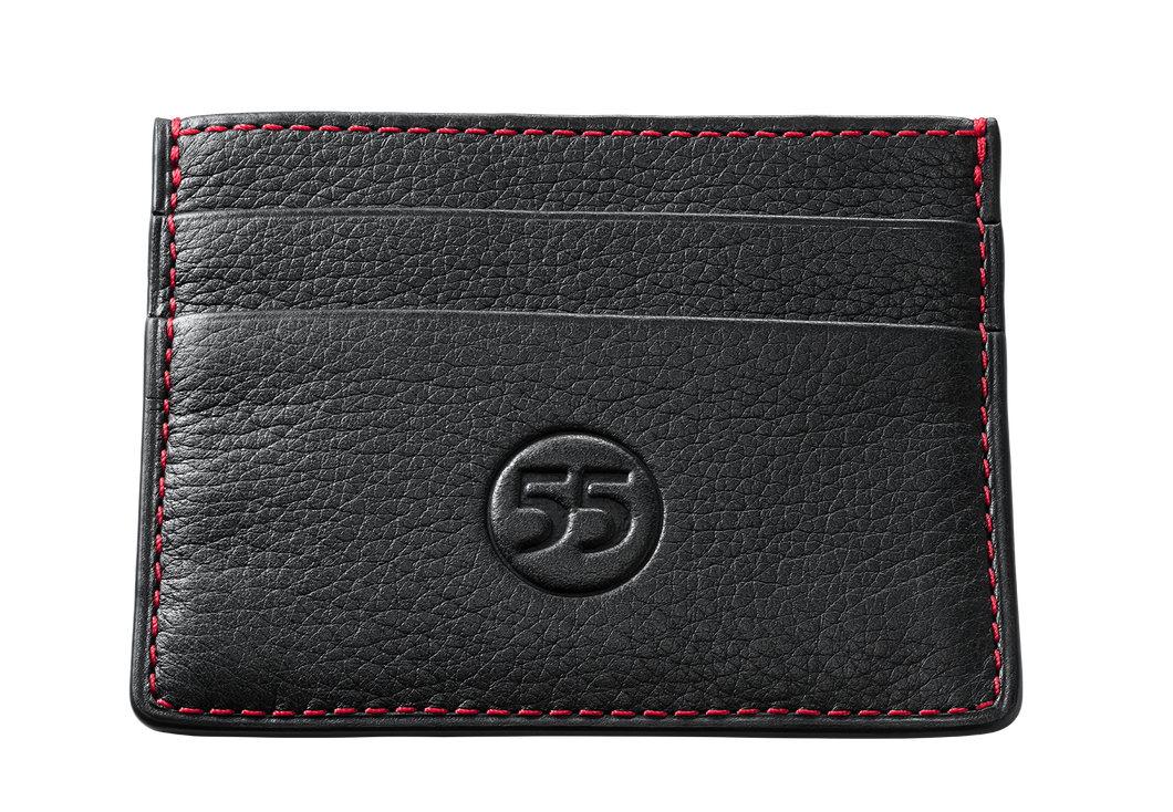 Card Holder: Black - Red