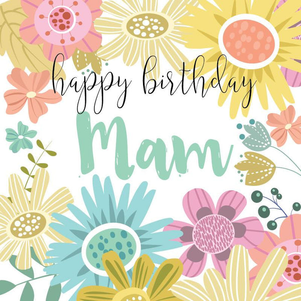BG03 Happy Birthday Mam