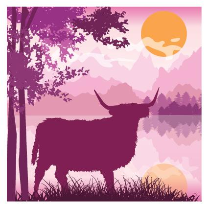 DUS01 Pink Cow