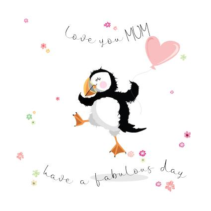 MOT28 Love You Mum Puffin