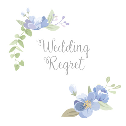 TB40 Wedding Regret