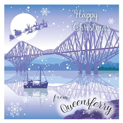 XD10 TOWN Forth Bridge and Santa