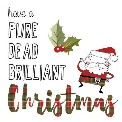 XHAV04 Pure Dead Brilliant Christmas