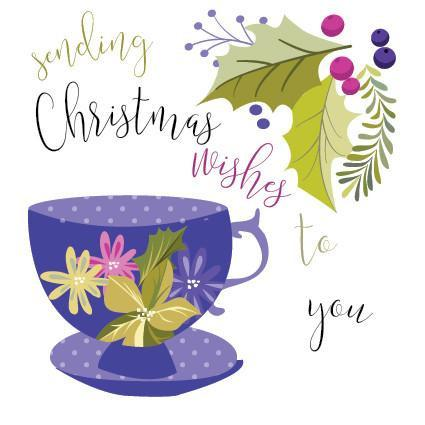 XM02 Christmas Wishes Teacup