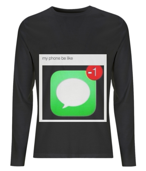 Reaction Meme 33 Men's Long Sleeve T-Shirt