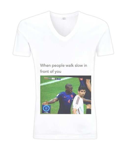 Reaction meme 2 V-Neck Men's T-Shirt